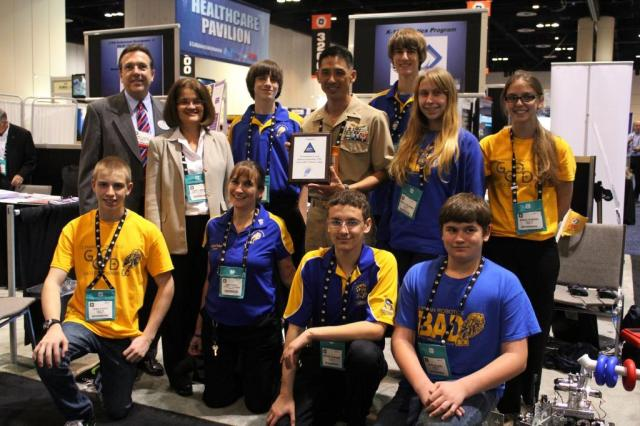 Lyman Robotics with NAWC and Seminole Superintendent-c