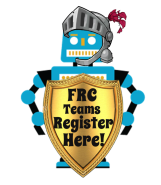 FRC team registration button